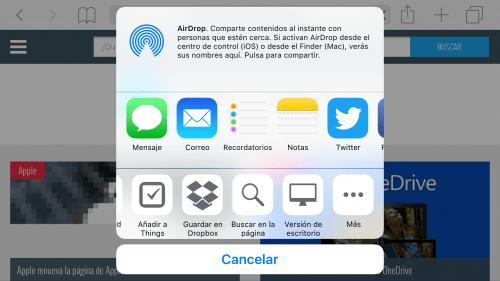 Imagen - Como ver la versión de escritorio de una web en Safari para iOS