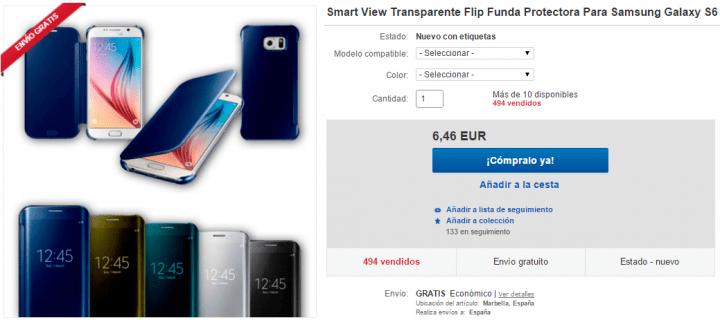 Imagen - 7 carcasas para el Galaxy S6