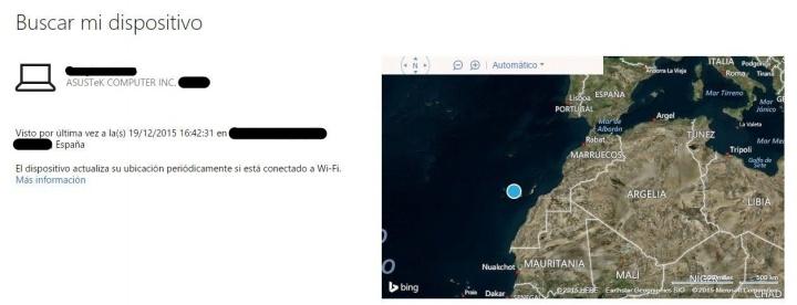Imagen - Encuentra tu dispositivo perdido con Windows 10