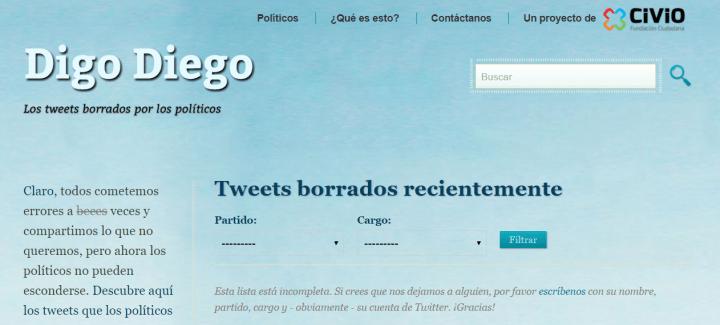 Imagen - Cómo ver los tweets borrados por los políticos