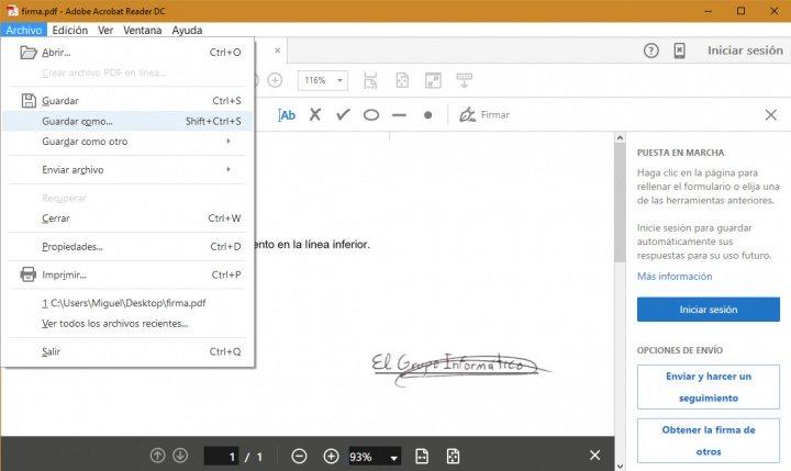 Imagen - Cómo firmar documentos en el ordenador sin escáner