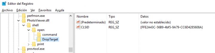 Imagen - Cómo recuperar el visor clásico de imágenes en Windows 10