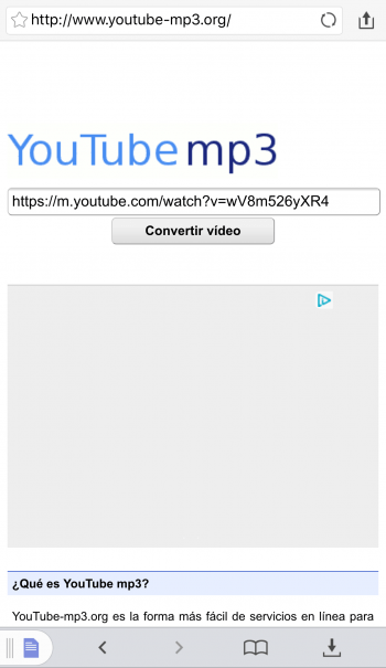 descargar musica mp3 para iphone