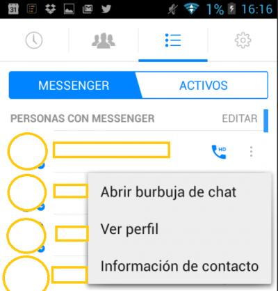 Imagen - Cómo bloquear a un contacto en Facebook Messenger