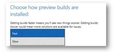 Imagen - Cómo activar el anillo rápido en Windows 10