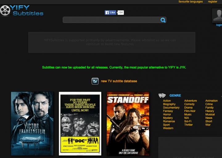 Imagen - 5 webs para descargar subtítulos de series y películas