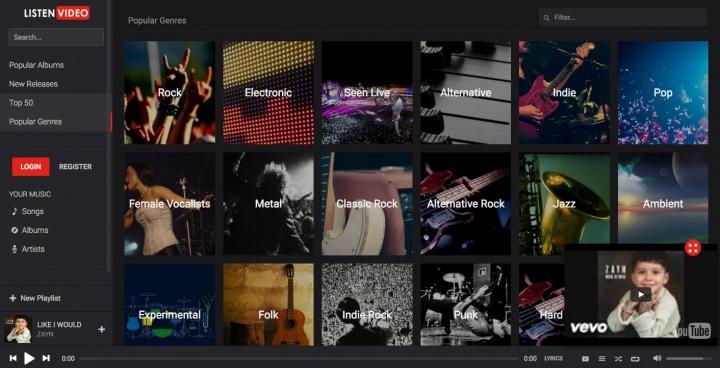 Imagen - Listen Video, un Spotify basado en YouTube