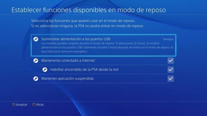 Imagen - ¿Qué es el modo reposo en PlayStation 4?