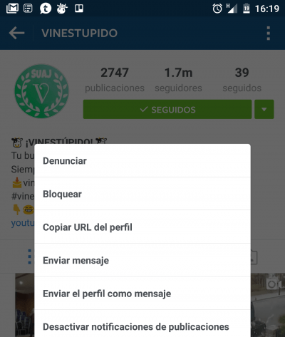 Imagen - Cómo activar notificaciones en Instagram