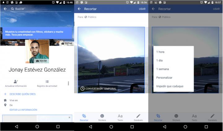 Imagen - Cómo poner una foto de perfil temporal en Facebook
