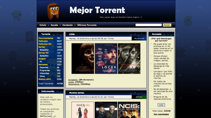 torrents pelis
