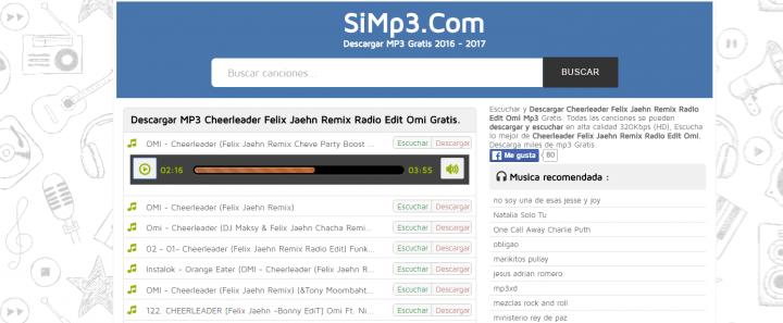 descarga de musica gratis