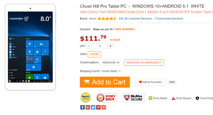 Imagen - Dónde comprar la Chuwi Hi8