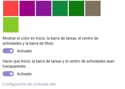 Imagen - Cómo cambiar los colores de Windows 10