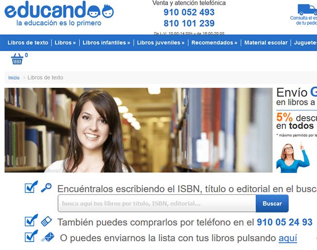 Imagen - Dónde comprar libros de texto en Internet