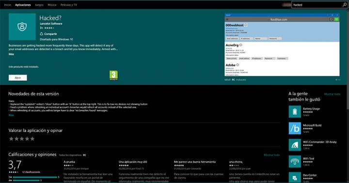 Imagen - Con esta app para Windows 10 sabrás si te han hackeado