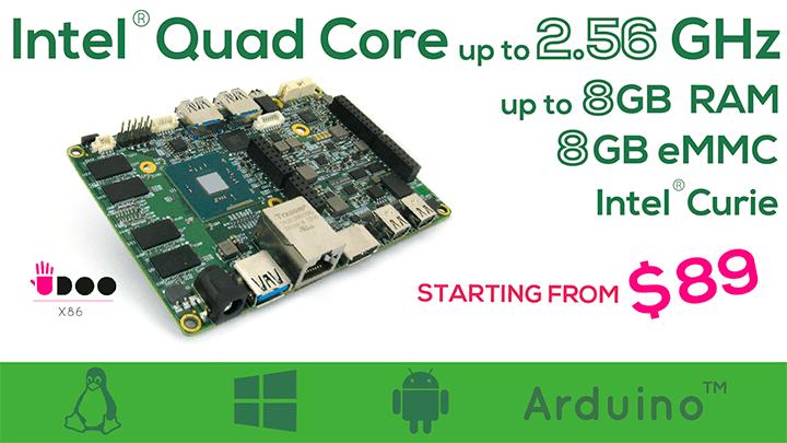 Todo sobre Udoo X86: La mini placa de Intel mas potente