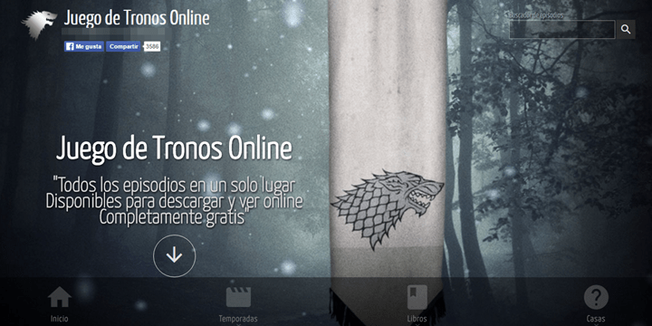 Con esta web puedes ver Juego de Tronos online
