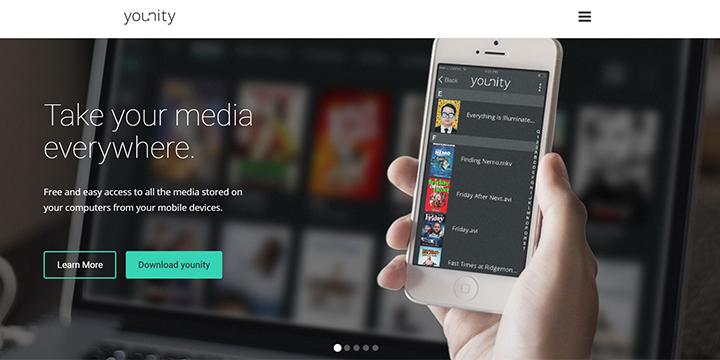 Younity, gestiona todo tu PC desde tu terminal Android o iOS