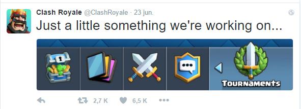 Imagen - Clash Royale añadirá torneos pronto