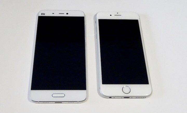 Comparativa Xiaomi Mi5 vs iPhone 6s