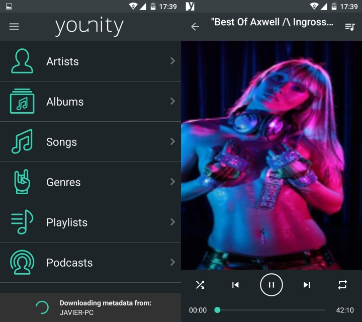 Imagen - Younity, gestiona todo tu PC desde tu terminal Android o iOS