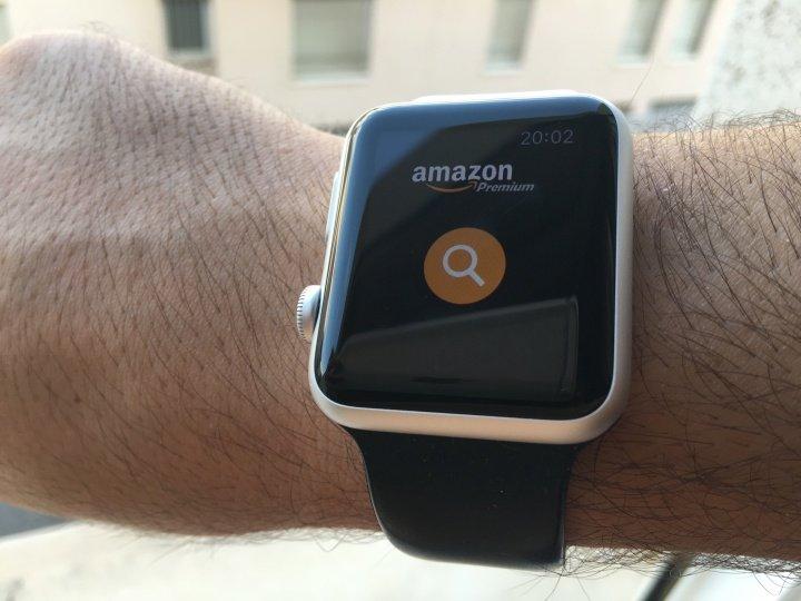 Comprar en Amazon desde un reloj, es posible y lo hemos probado