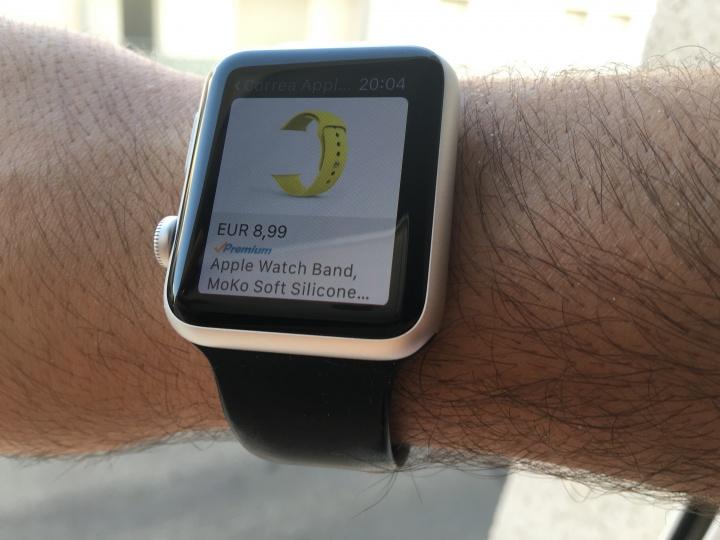 Imagen - Comprar en Amazon desde un reloj, es posible y lo hemos probado