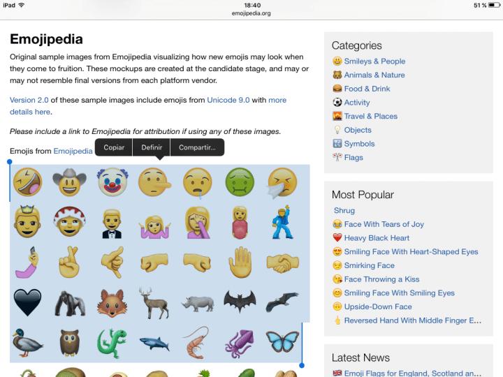 Imagen - Cómo usar los nuevos emoticonos de iOS 10 sin instalar iOS 10