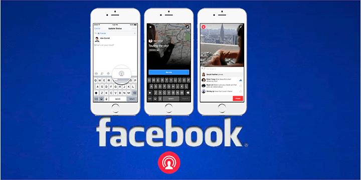 MSQRD ya permite emitir vídeos en Facebook