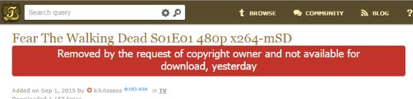 Imagen - KickassTorrents quiere ser más legal y elimina más de un millón de torrent