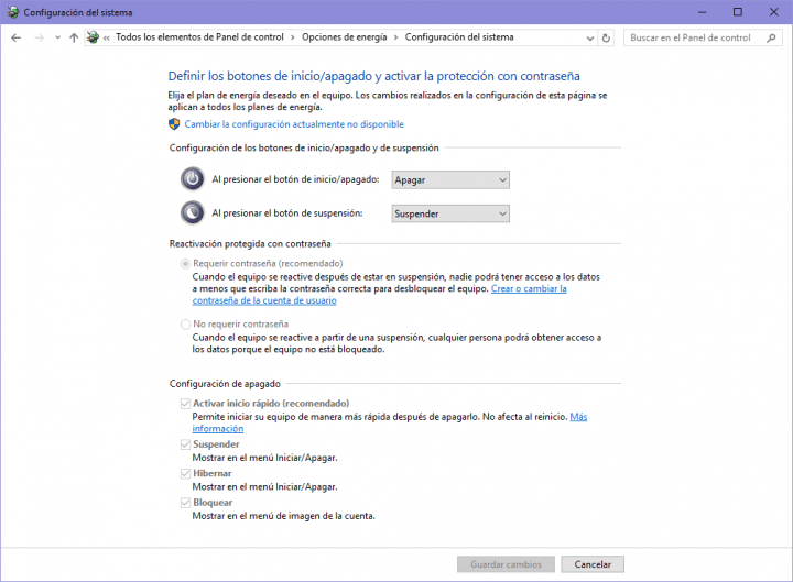 Imagen - Cómo activar la hibernación en Windows 10
