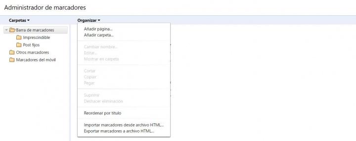 Imagen - Cómo hacer una copia de seguridad de los marcadores de Chrome