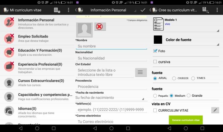 Imagen - Crea tu CV desde el móvil o tablet con Currículum gratis