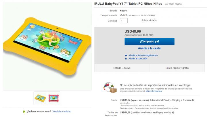 Imagen - Dónde comprar la iRULU-BabyPad Y1