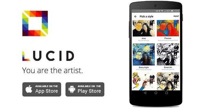 Lucid, crea obras de arte con tus fotografías