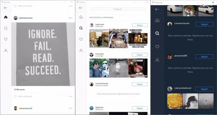 Imagen - Con Ramme podrás tener Instagram en tu PC, Linux o Mac