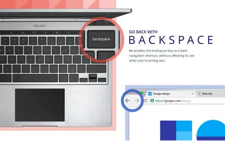 Imagen - Cómo volver hacia atrás con la tecla retroceso en Chrome