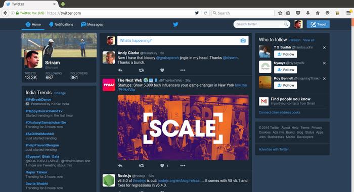 Imagen - Cómo activar el modo nocturno en Twitter en la web