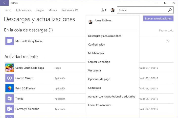 Imagen - Cómo deshabilitar las actualizaciones automáticas de las apps de Windows 10