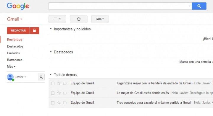 Imagen - Cómo funcionan los correos prioritarios de Gmail