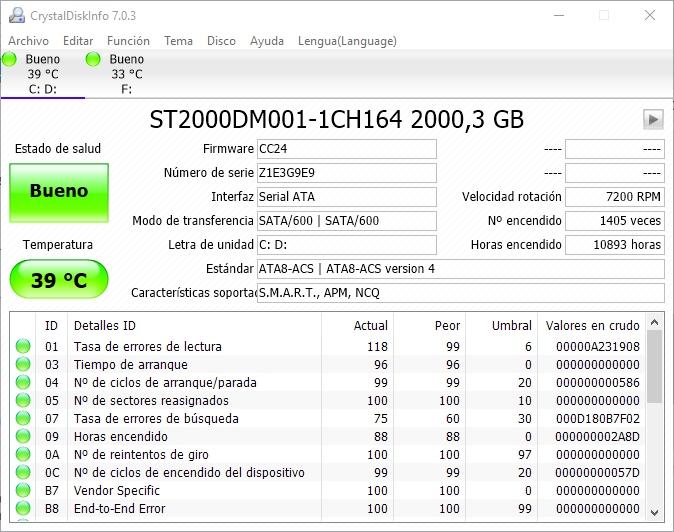 Imagen - Conoce el estado de tus discos duros con CrystalDisk Info