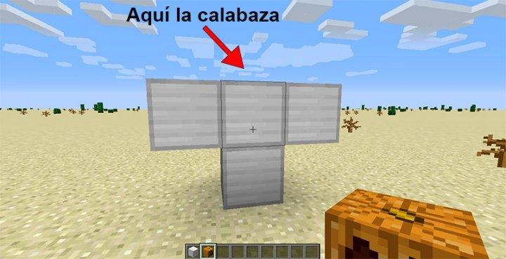 Imagen - Cómo hacer un gólem de hierro en Minecraft