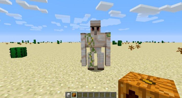 Cómo hacer un gólem de hierro en Minecraft
