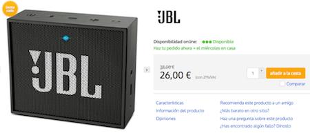 Imagen - Dónde comprar el JBL Go