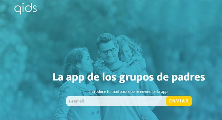 Qids, la app para grupos de conversación entre padres