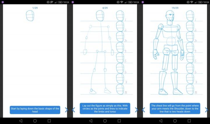 Imagen - Aprende a dibujar, la app que enseña a dibujar a través de distintas técnicas