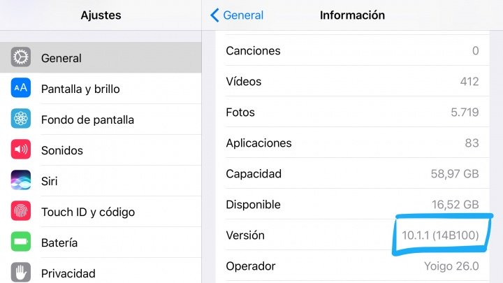 Imagen - ¿Qué versión de iOS soporta mi iPad?