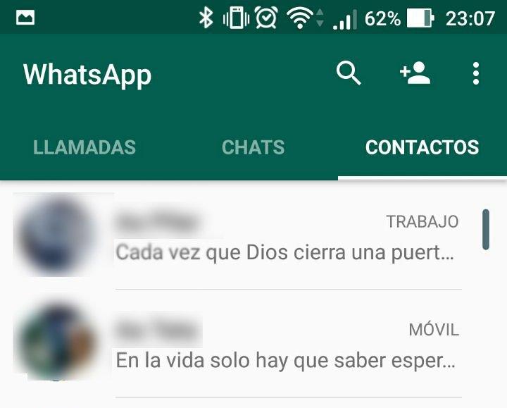 Imagen - Cómo eliminar un contacto en WhatsApp