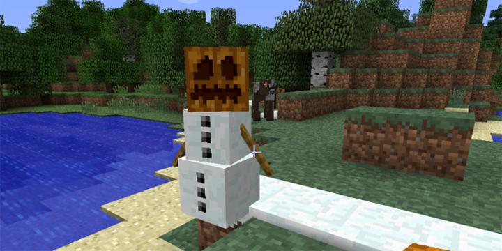 Cómo hacer un muñeco de nieve que se mueve en Minecraft